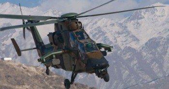 «Еврокоптер Тигр». Разработан франко-германским консорциумом Eurocopter и производится в на заводах Eurocopter в Донаувюрте (Германия) и Мириньяне (Франция). В Австралии, Германии, Испании и Франции насчитывается 64 таких вертолета.