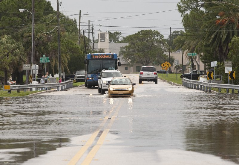 Tropical Storm Debby Floods Florida