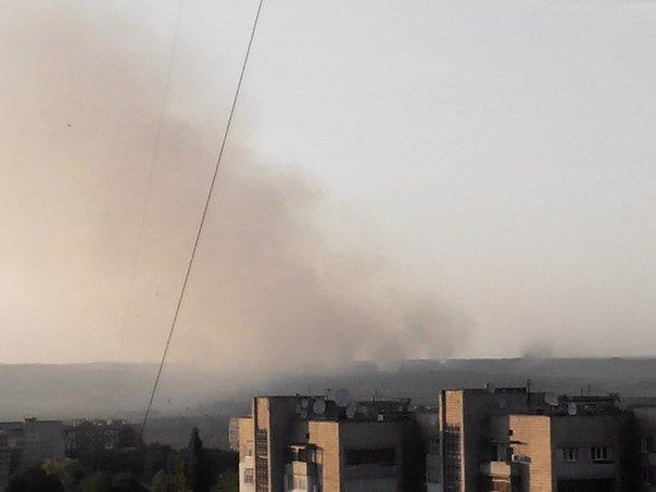 19:30. Луганск. 04.07.2014. Большая Вергунка