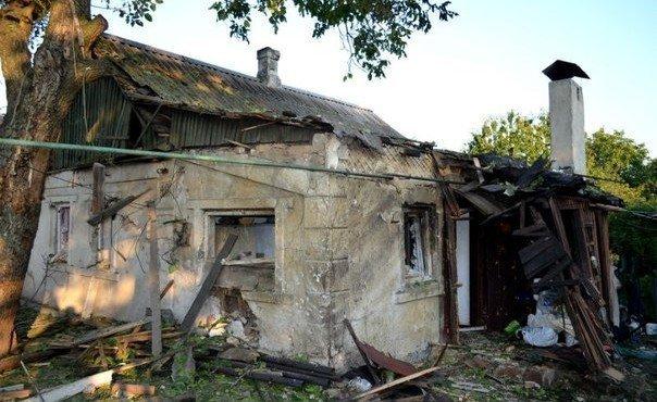 Усадьба пережила немецкую оккупацию. А теперь – разрушена так называемыми «освободителями». Частично разрушен и соседний дом по ул. Чистопольской.