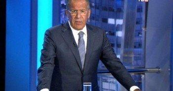 Сергей Лавров отвечает на все вопросы в передаче «Право знать!»