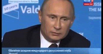 Путин о геях, о России и вымирании Европы.