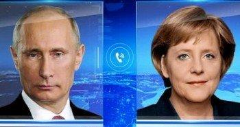 Владимир Путин и Ангела Меркель против Эболы будут бороться вместе
