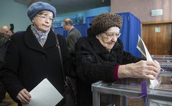 Внеочередные парламентские выборы на Украине