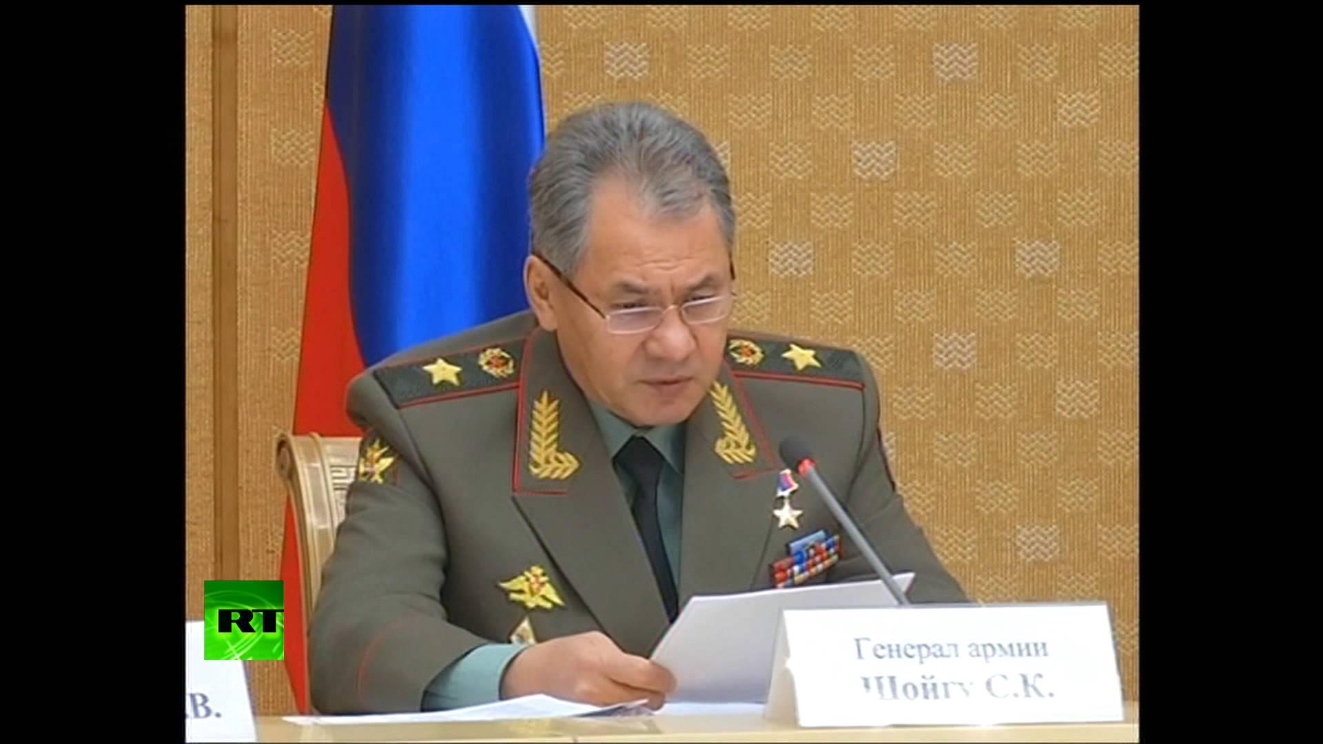 Сергей Шойгу: США и ЕС спровоцировали отстранение от власти законного президента Украины