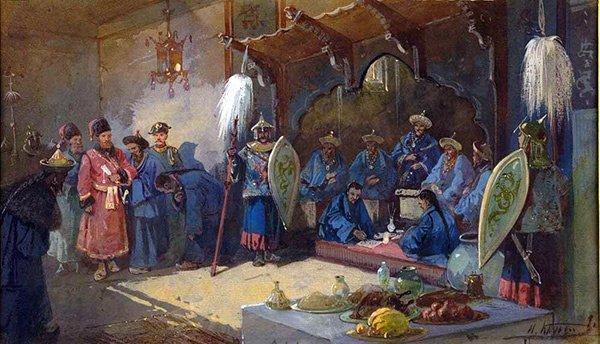 «Казаки в Киргиз-Кайсацкой Орде», Николая Каразина