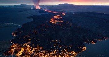 Вулканический закат