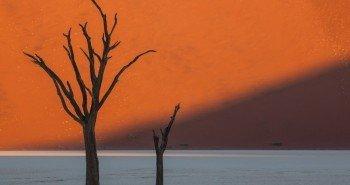 Закат в Намибии
