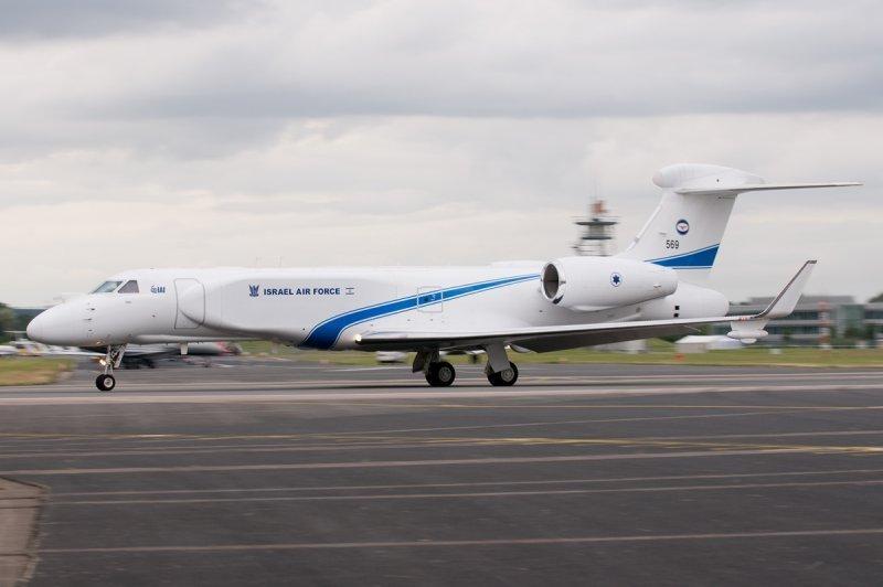 Самолет ДРЛО «Nahshon-Eitam» (IAI) с системой EL/W-2085 (Elta)