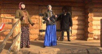 Жена Германа Стерлигова устроила дефиле в ватниках и с автоматами