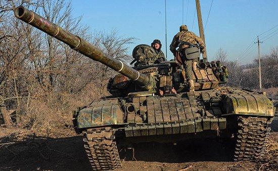 Ситуация в Новоазовске Донецкой области