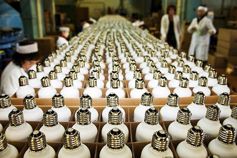 Производство энергосберегающих ламп
