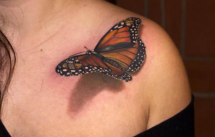 Татуировка в стиле реализм.