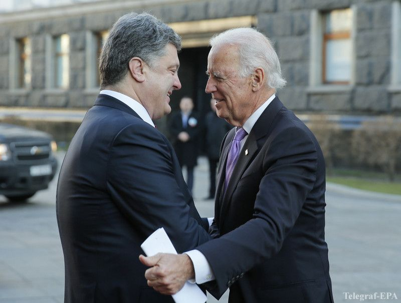 US Vice President Joe Biden in Ukraine