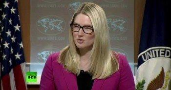 Представитель Госдепартамента США Мари Харф не читала «антирусскую» резолюцию №758
