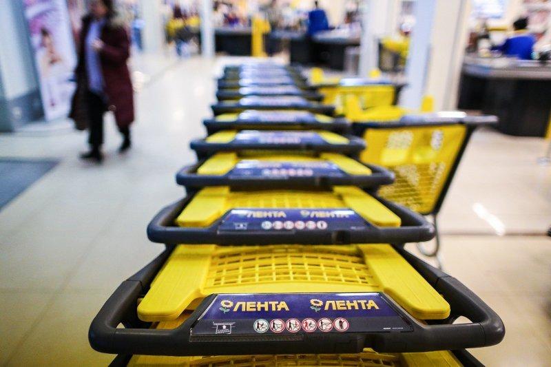 Shoppers Inside A Lenta Ltd. Supermarket Store Ahead Of IPO