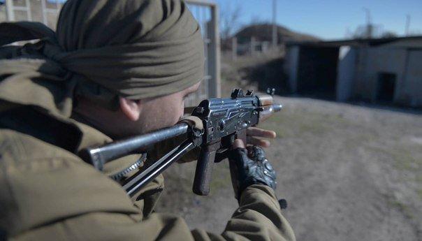 Луганский ополченец.