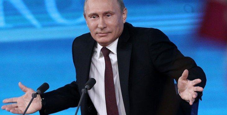Пресс-конференция президента РФ Владимира Путина