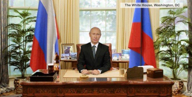 ЭКСКЛЮЗИВ. Новогоднее обращение Владимира Путина 2015 (Видео)