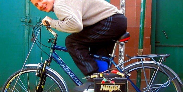 В потрёпанном войной Луганске не унывают: а делают генератор на 220в. из простого велосипеда (Видео)