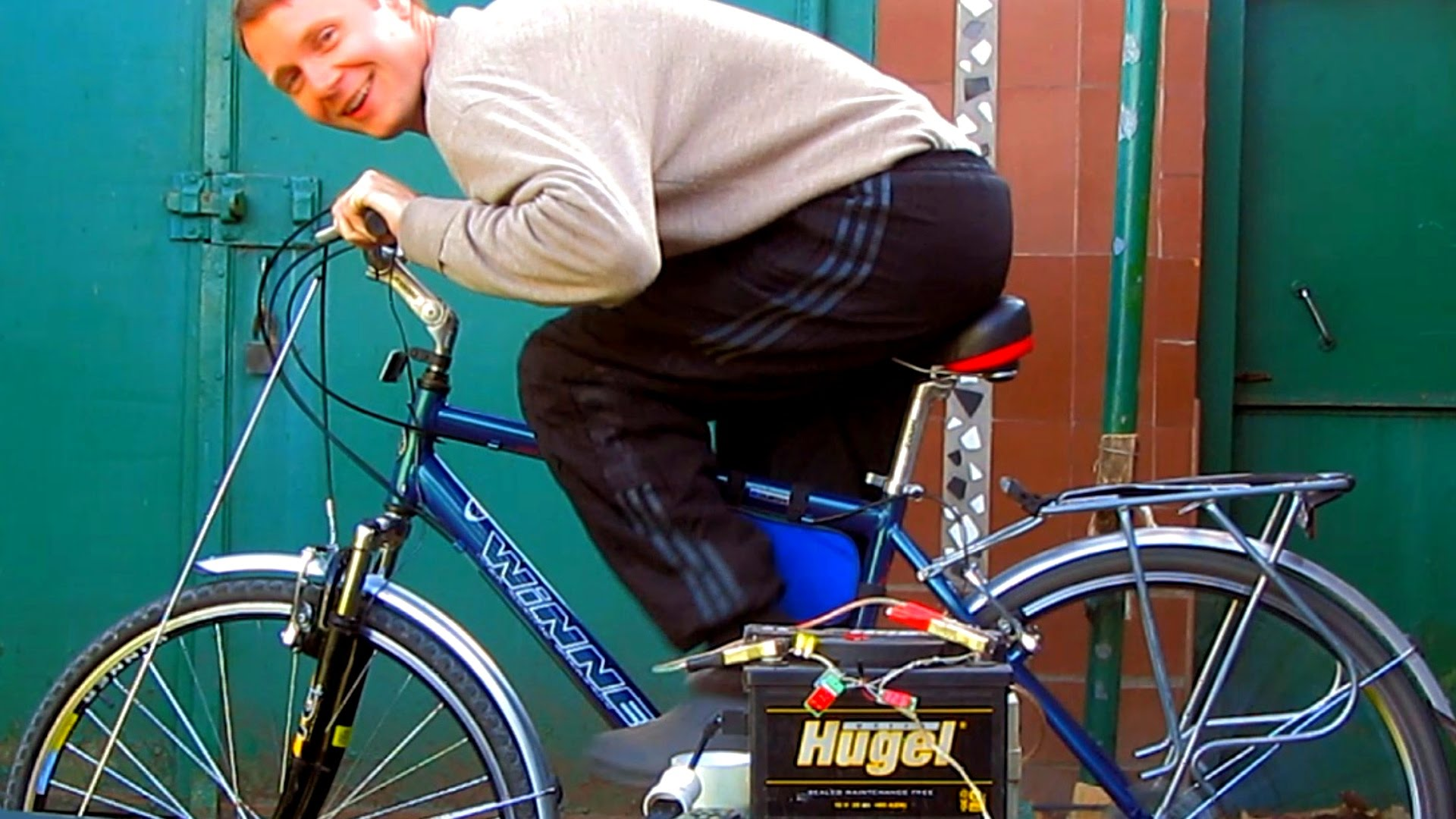 Велосипед своими руками из дрели