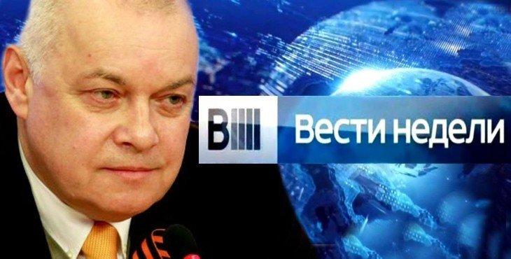 «Вести недели» с Дмитрием Киселёвым Видео от 25.01.2015