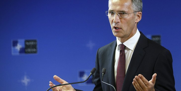 New NATO Secretary General Jens Stoltenberg takes office