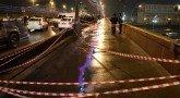 ТВЦ показал запись с камеры, установленной близ места убийства Немцова