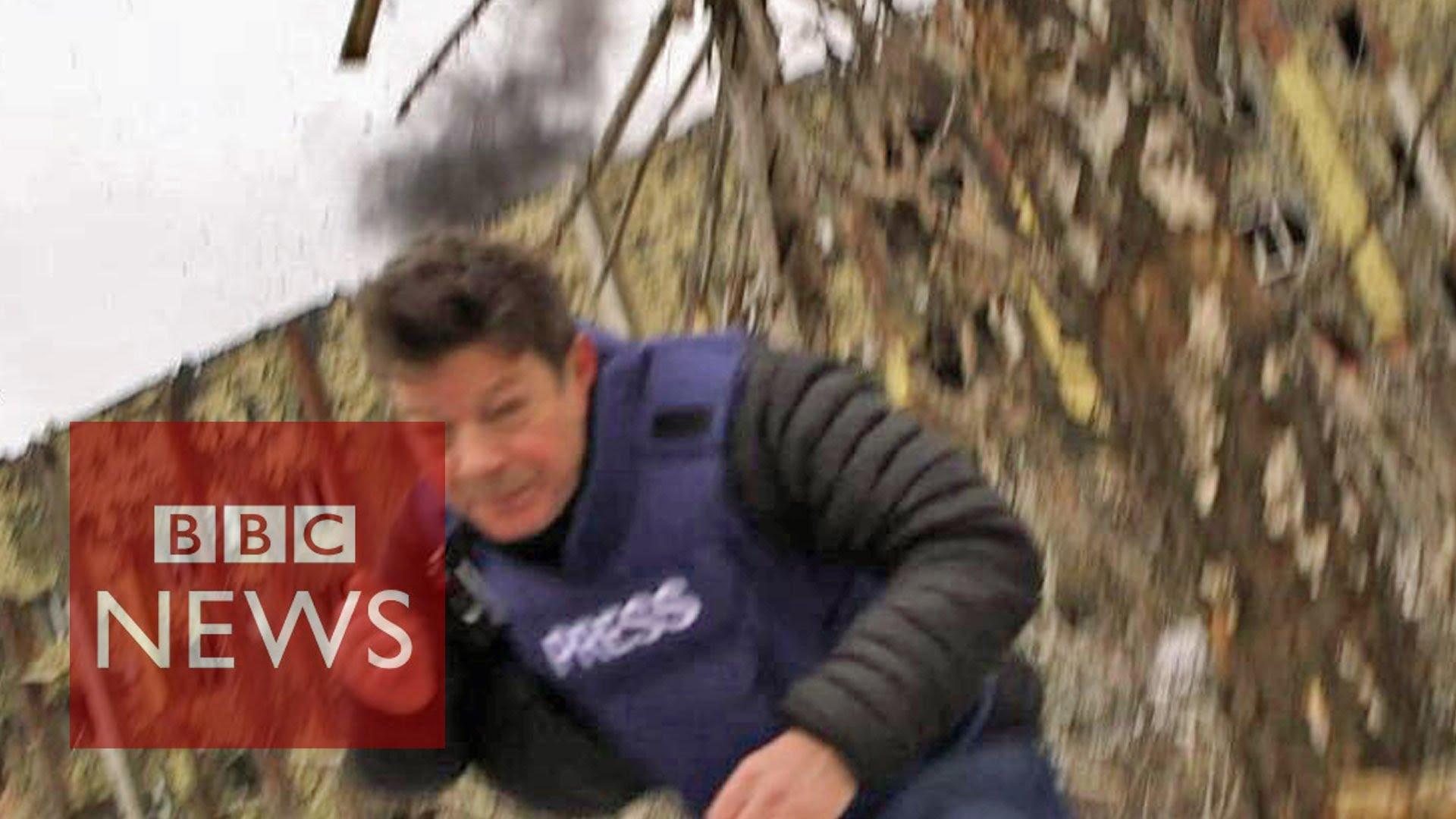 Снаряд ВСУ помешал рассказать корреспонденту ВВС о нарушении перемирия