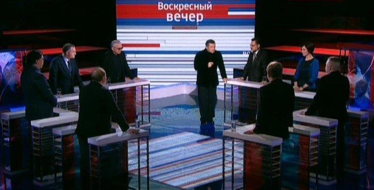 Воскресный вечер с Владимиром Соловьевым Видео 08.02.2015