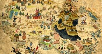 Mongol Empire Map