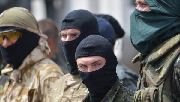 бойцы добровольческих батальонов