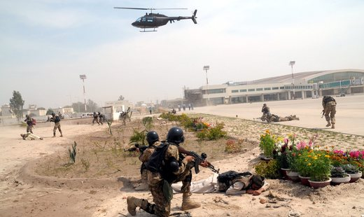 Counter-terrorism exercise in Multan