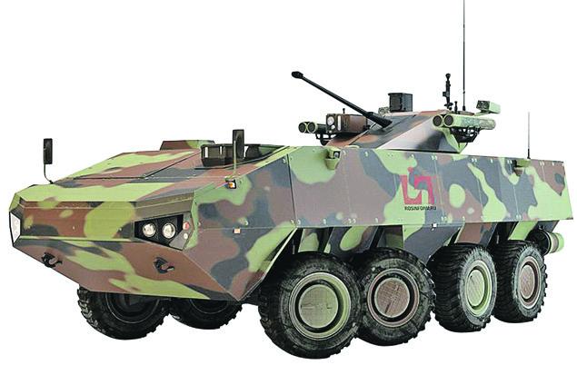 Пехотный «Бумеранг». Машина тоже появится на публике впервые. Фото: youtube.com