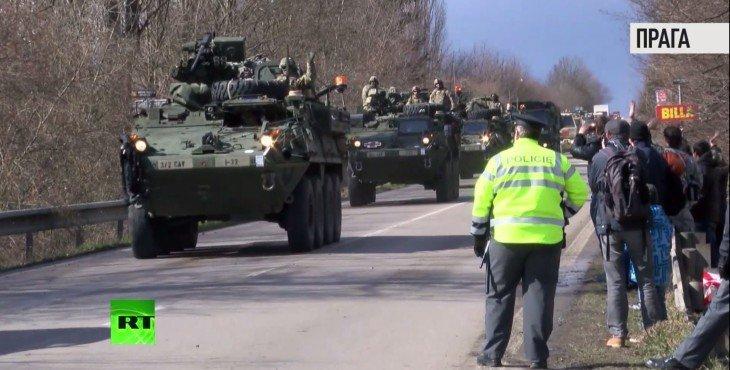 Армия, убирайся домой: Чехия выступила против американского конвоя