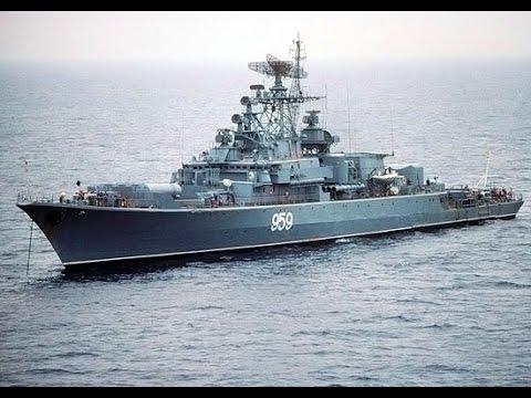 Российский флот показал огневую мощь