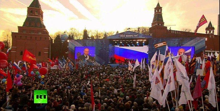 Владимир Путин: Россия преодолеет все трудности, которые пытаются вбросить извне