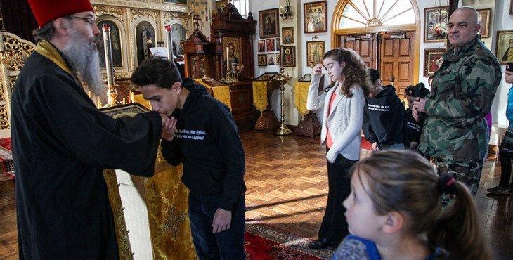Калифорния православный храм