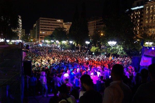 © РИА Новости. Геннадий Мельник Наркофестиваль в Афинах