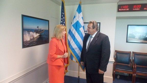 © Пресс-служба министерства обороны Греции