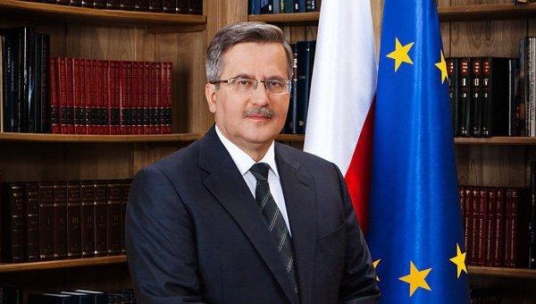 © Фото: Архив канцелярии президента Польши Бронислава Коморовского