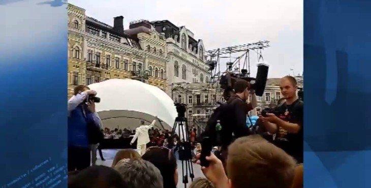 Кличко перепутал гимны Киева и Украины