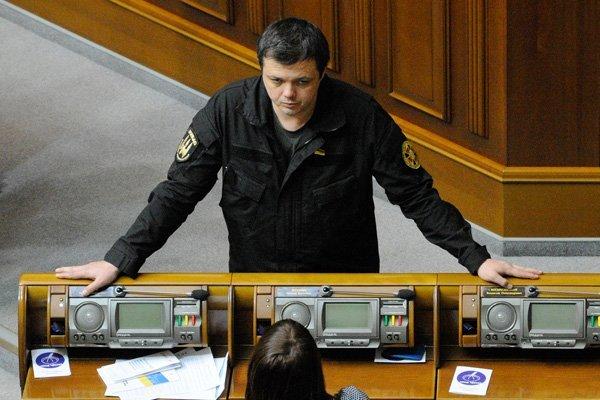Семен Семенченко на заседании Верховной рады. Фото: Александр Максименко / РИА Новости