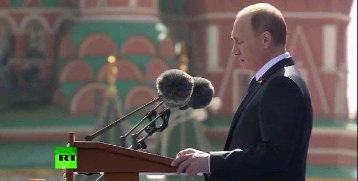Речь Владимира Путина на Параде Победы 2015