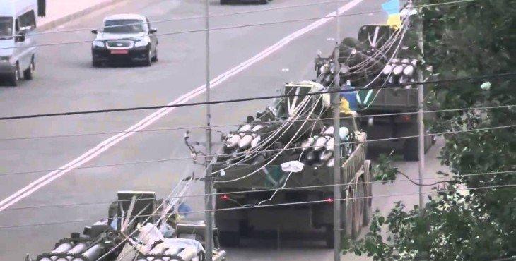 Украина стянула к Донецку и Мариуполю 60% своей армии