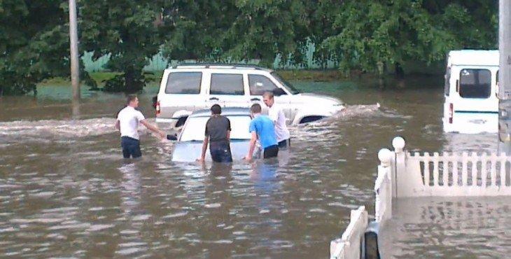 Челябинск утонул