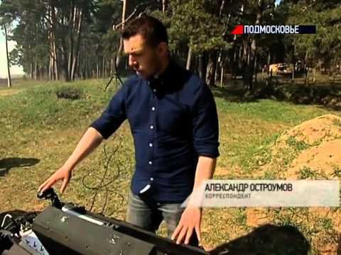 На Камчатке показали нового боевого робота «Платформа-М»