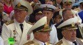 Морской парад в честь Дня ВМФ в Балтийске – прямая трансляция