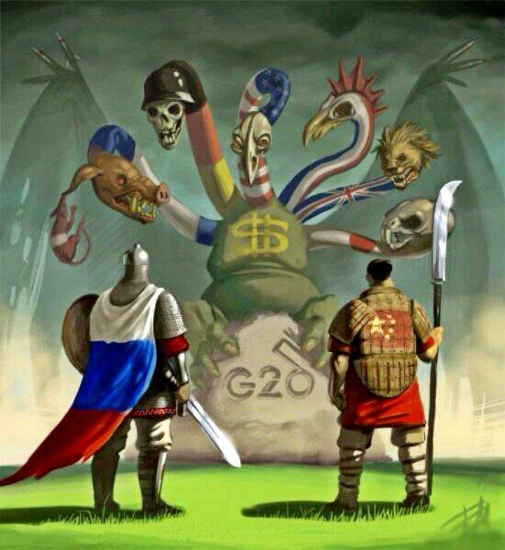 Картинки по запросу китай и россия против гидры сша