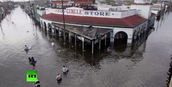 Правозащитник: Спустя 10 лет после урагана «Катрина» Новый Орлеан так и не восстановлен